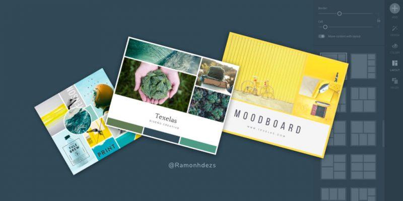 ¿Cómo crear un moodboard online diseño gráfico?