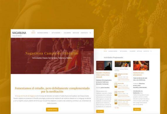 Diseño Web para Nagarjuna Campo de Gibraltar